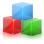 七彩色图片排版工具LOGO