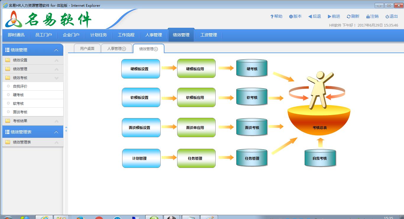 名易MyHR人力资源管理平台截图3