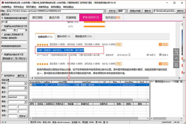 网页项目信息采集器截图1