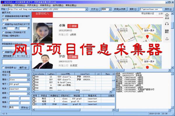 网页项目信息采集器截图3