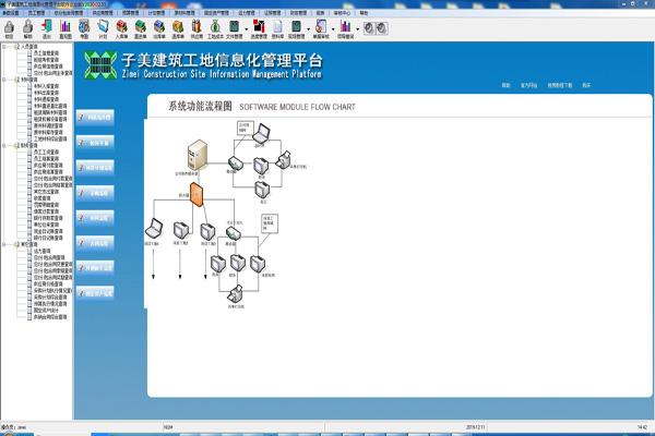 子美建筑工地管理系统截图2