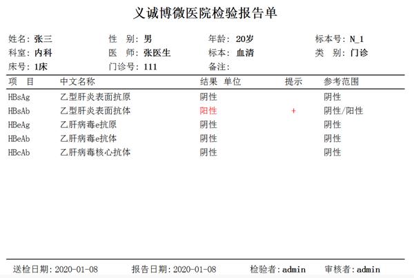 医学检验报告编辑系统软件截图2