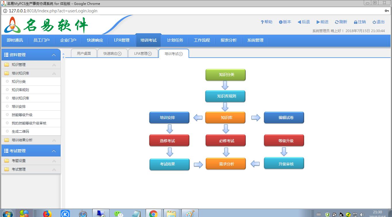 名易MyPCS生产事务协调系统截图4
