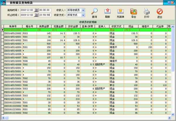 天意餐饮管理系统截图6