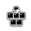 键盘鼠标按键显示