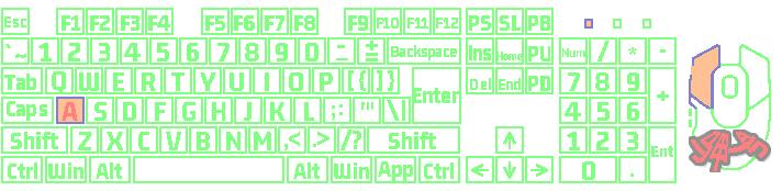 键盘鼠标按键显示(ShowKeyBoardMouseOnScreen)截图3