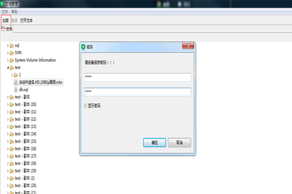 ShCrypt数据加解密windows版截图1
