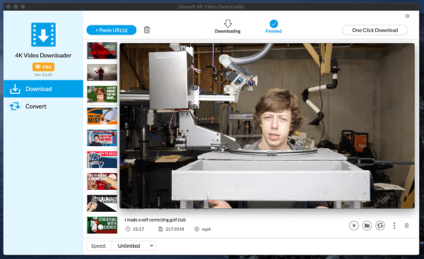 4K Video Downloader for Mac截图5