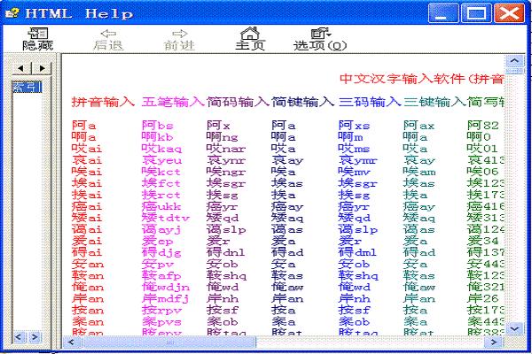 <值牌>中文代码万能输入法截图1