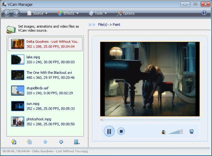 VCam 虚拟摄像头截图1