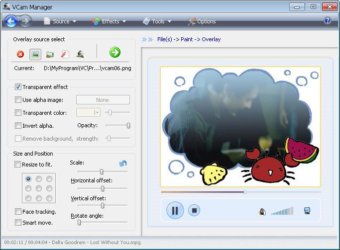 VCam 虚拟摄像头截图3