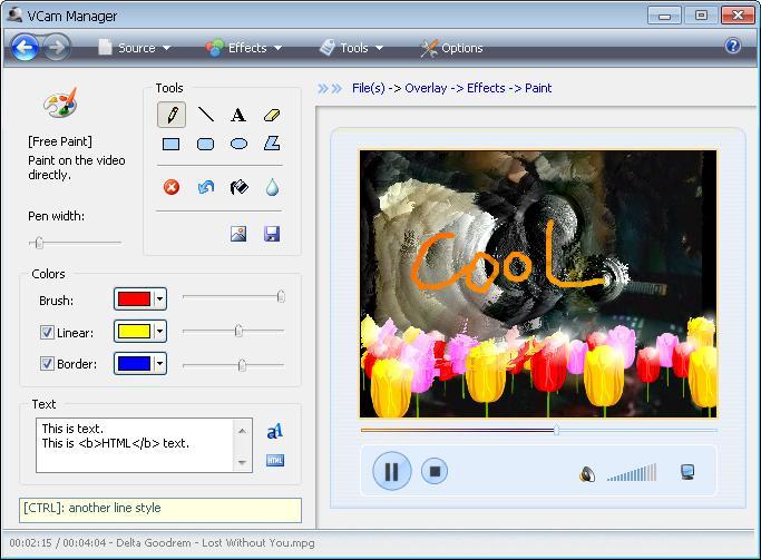 VCam 虚拟摄像头截图4