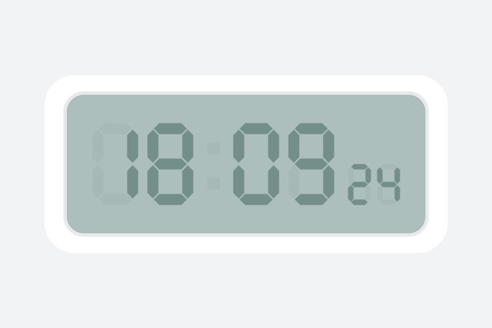 幂果桌面翻页时钟软件