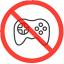 禁止玩游戏