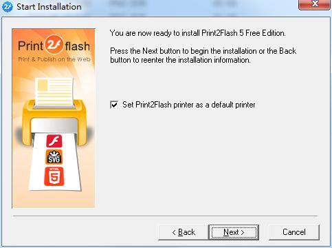 Print2Flash截图
