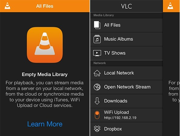 VLC media player截图