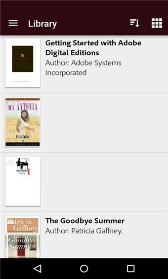 Adobe Digital Editions截图