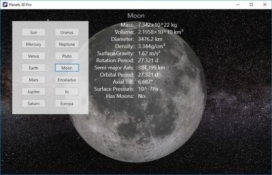 Planets 3D Pro截图1
