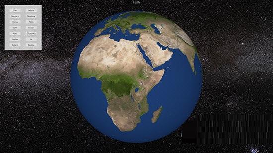 Planets 3D Pro截图2
