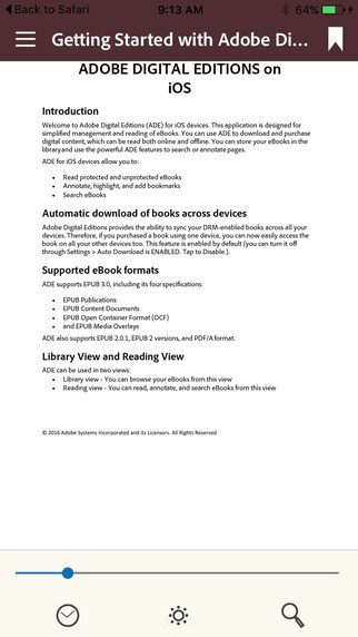 Adobe Digital Editions截图2