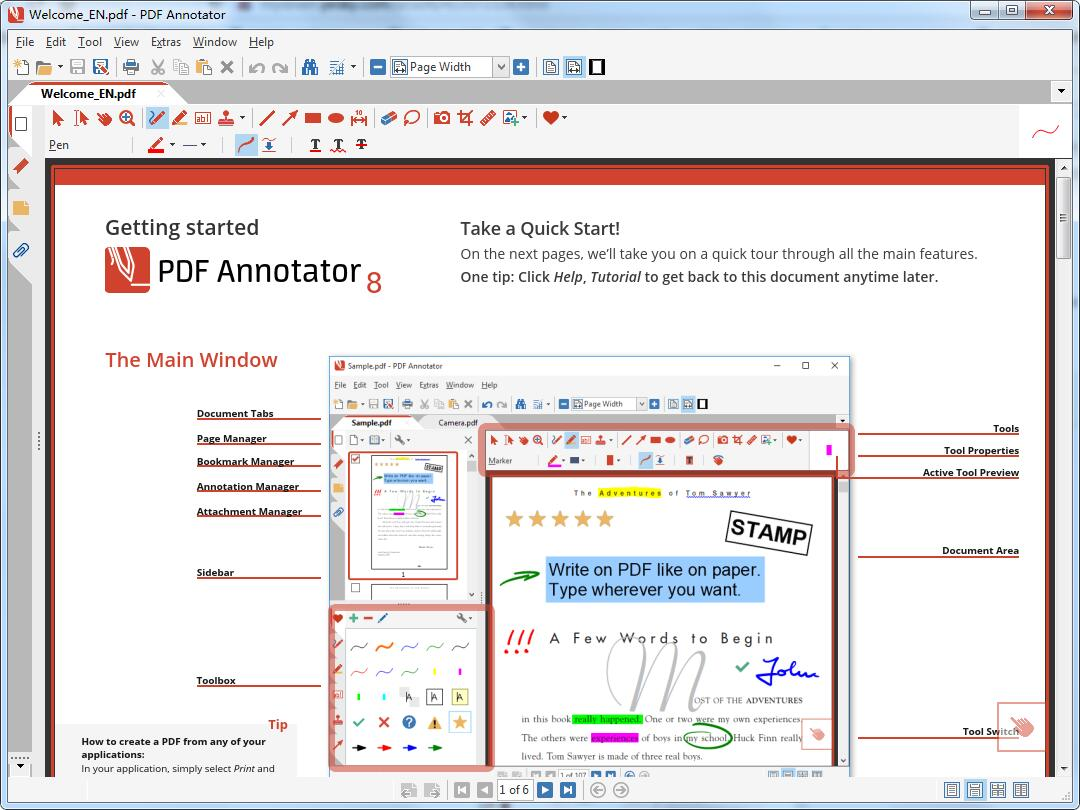 PDF Annotator Multilingual截图1