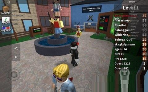ROBLOX游戏平台截图