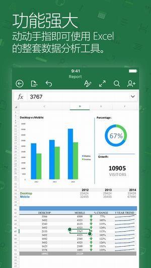 Microsoft Excel截图
