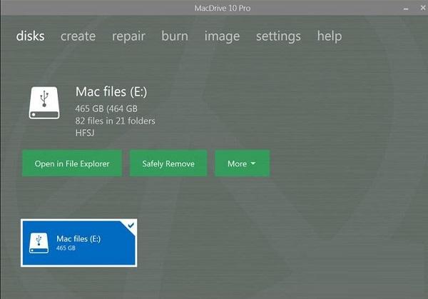 MacDrive截图