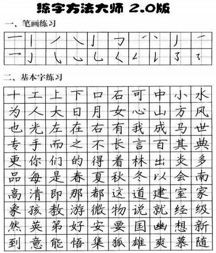 練字方法大師截圖1
