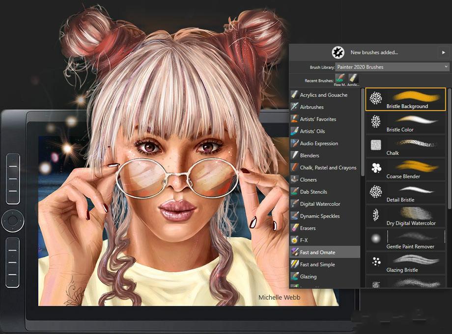 Corel Painter 2020截图