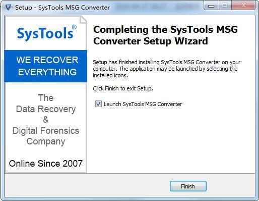 SysTools MSG Converter截图