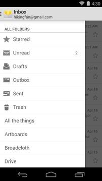 Email电子邮件截图