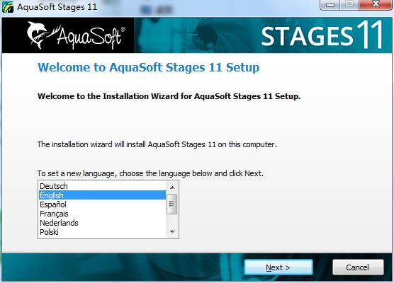 AquaSoft Stages截图