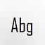 agencyfb字體