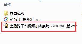 金盾跨平台视频加密系统截图