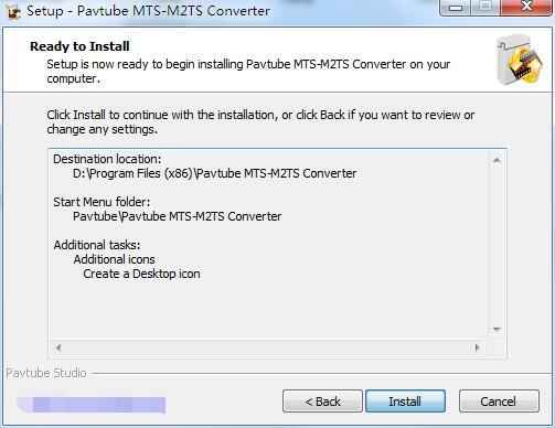 Pavtube MTS-M2TS Converter截图