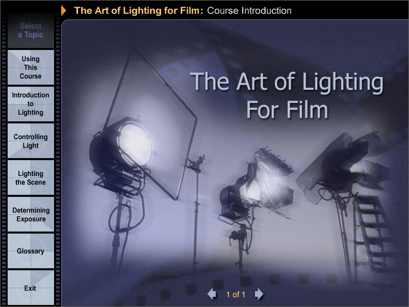 The Art of Lighting for Film截图