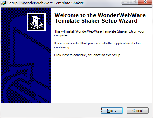 Template Shaker截圖