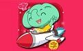 小学生动画学汉语拼音段首LOGO