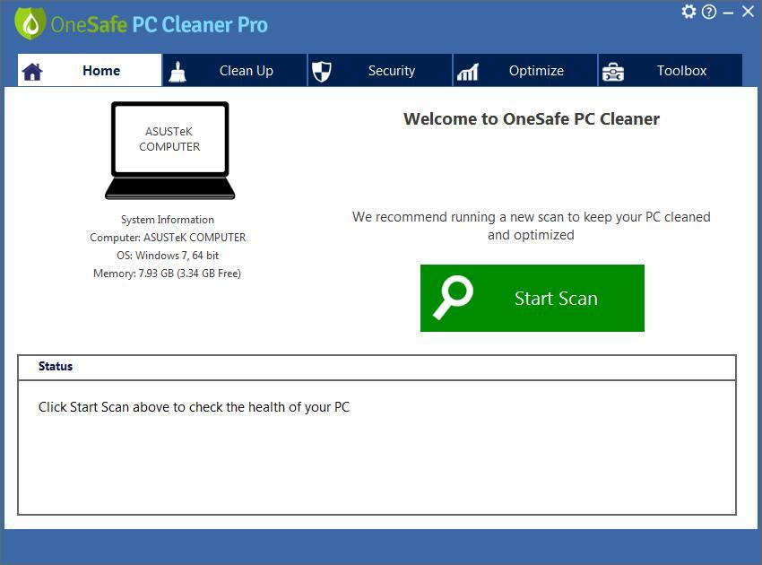 OneSafe PC Cleaner Pro截图