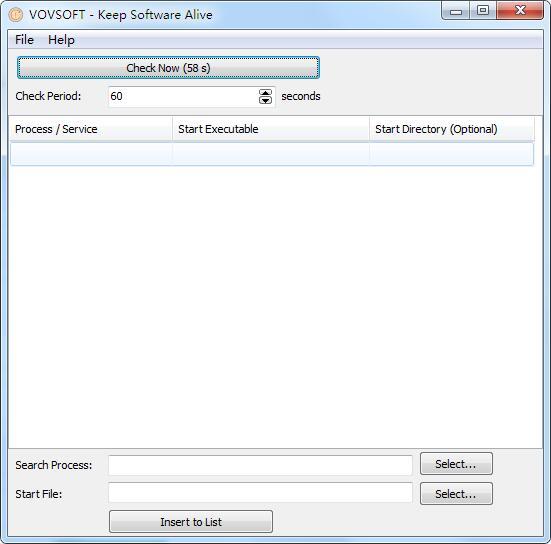 VovSoft Keep Software Alive截图1