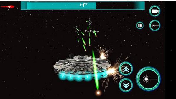 X翼战斗机截图