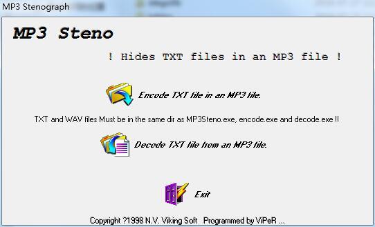 MP3 Steno截图