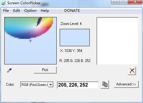 Screen ColorPicker截图