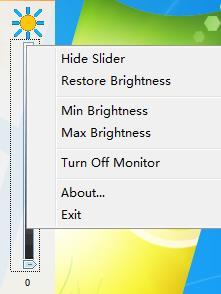 Adjust Monitor Brightness截图