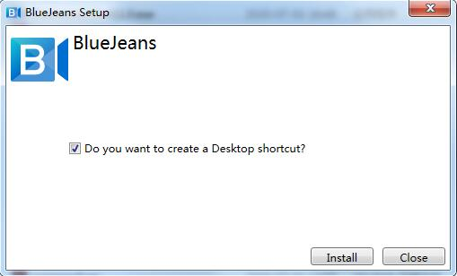BlueJeans截图