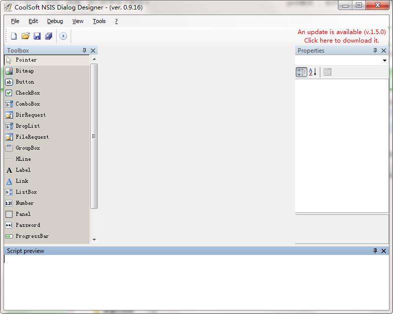 NSIS Dialog DesignerNSIS截图1