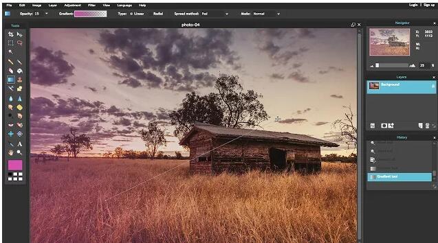 Pixlr Editor截图