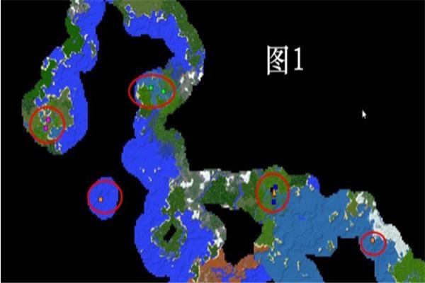 我的世界地图截图