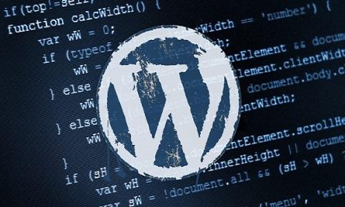 WordPress截图
